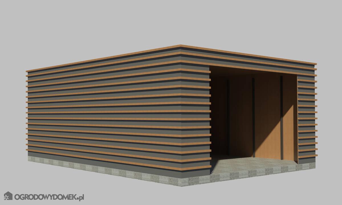 Projekty Ogrodowy Domek